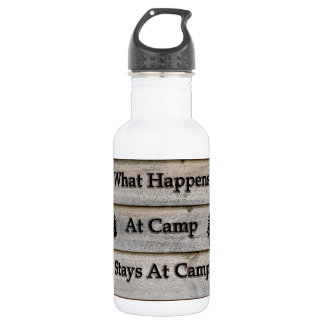 What happens at camp stays at camp 532 ml water bottle