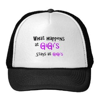 What happens at GiGi stays at GiGi's Cap