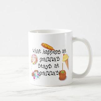 What Happens at Gramma's STAYS at Gramma's Coffee Mug