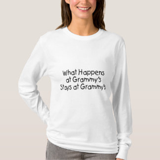 What Happens At Grammys Black 2 T-Shirt