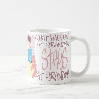 What Happens At Grandmas Coffee Mug