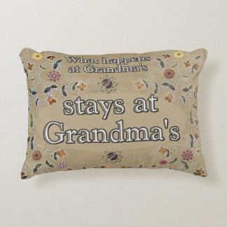 What happens at Grandma's _ Pillow