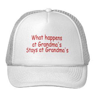 What Happens At Grandma's Stays At Grandma's Hat
