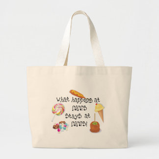 What Happens at Mimi's STAYS at Mimi's! Jumbo Tote Bag