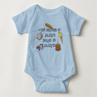 What Happens at Nanny's STAYS at Nanny's Baby Bodysuit