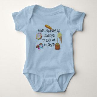 What Happens at Nanny's STAYS at Nanny's T-shirt