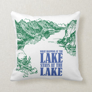 What Happens at the Lake Stays at the Lake Pillow
