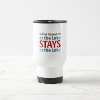 What happens at the Lake Travel Mug