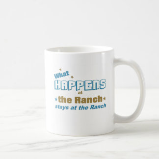 What happens at the ranch coffee mug