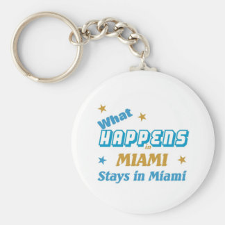 What happens in Miami Key Ring