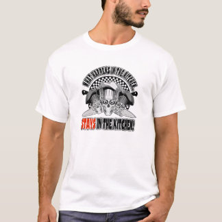What Happens in the Kitchen: Chef Knives T-Shirt
