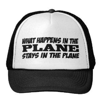 What Happens in the Plane Cap