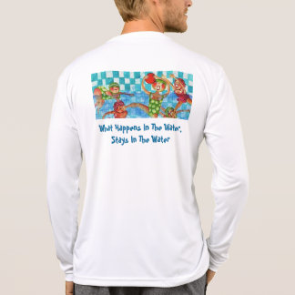What Happens In The Water, Stays In The Water T-shirts
