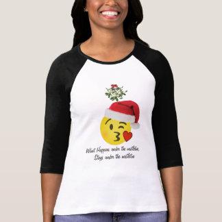what happens under mistletoe stays under mistletoe T-Shirt