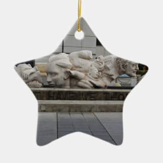What Have We Thought Ceramic Star Decoration