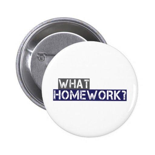 what homework? pin