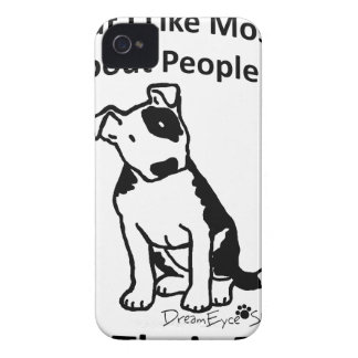 What I like most about people... iPhone 4 Cover