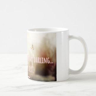 What if I fall - Erin Hanson quote Coffee Mug
