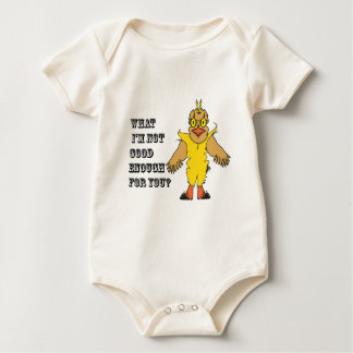 What I'm not good enough for you.ai Baby Bodysuit