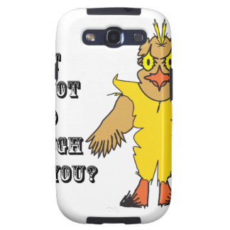 What I'm not good enough for you.ai Galaxy S3 Cases