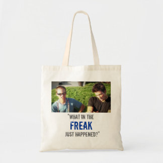 """""""What in the Freak Just Happened?"""" Budget Tote Bag"""