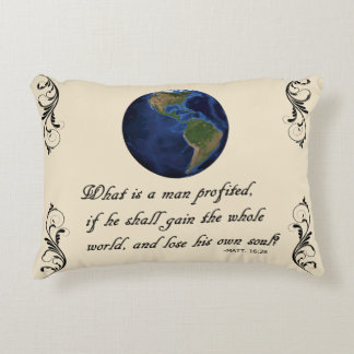 WHAT IS A MAN PROFITED DECORATIVE CUSHION