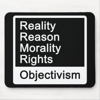 What is Objectivism? mousepad