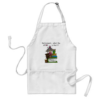 What is Retirement Humor Aprons