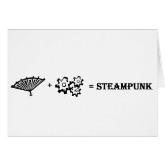 What is Steampunk? Card