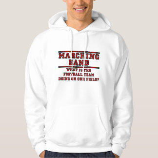 What Is The Football Team Doing On Our Field? Hoodie