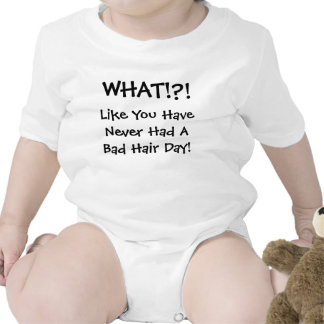 WHAT!?!, Like You Have Never Had A Bad Hair Day! Rompers