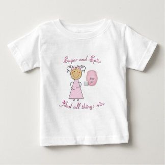 What little girls are made of -- Sugar and Spice Tshirt