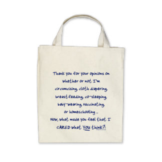 What made you think I cared? Canvas Bags