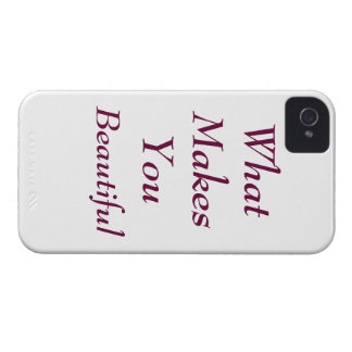 What Makes You Beautiful Case
