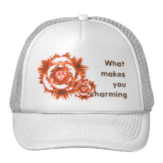 What makes you charming. cap