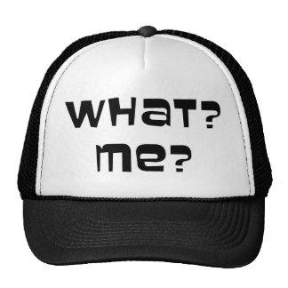 What? Me? Cap