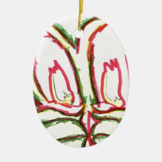 What Me Draw Dragon Ceramic Oval Decoration