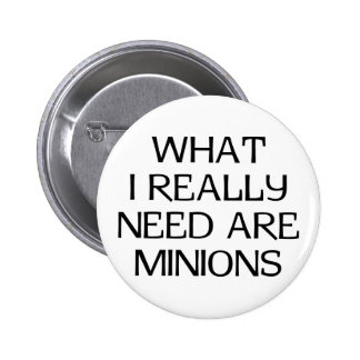 What Minions 6 Cm Round Badge