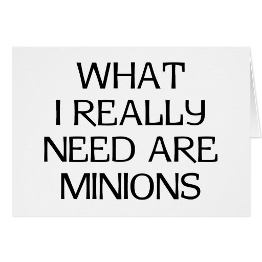 What Minions Cards