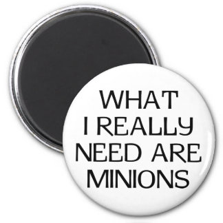 What Minions Refrigerator Magnet