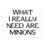 What Minions Post Cards