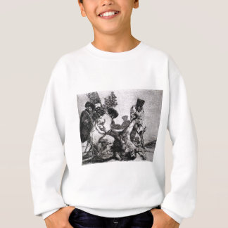 What more can one do? by Francisco Goya Sweatshirt