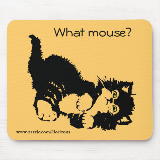 What mouse? mouse pad