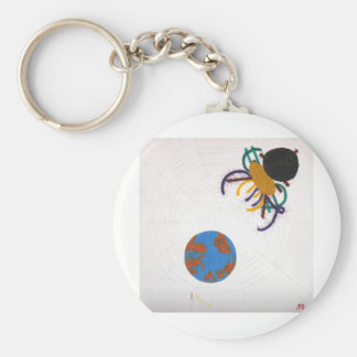 What now? basic round button key ring