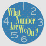 what number are we on blue with numbers round stickers