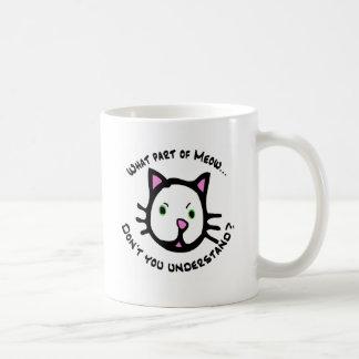 What part of Meow... Coffee Mug