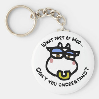 What part of Moo... Key Chain