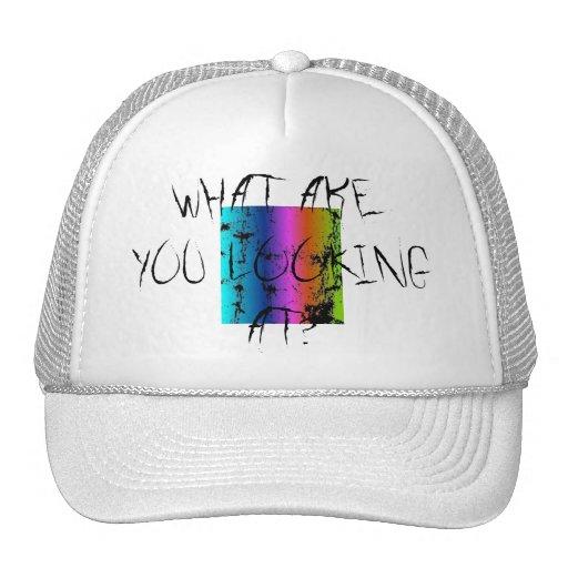 What r u looking at - cap mesh hat