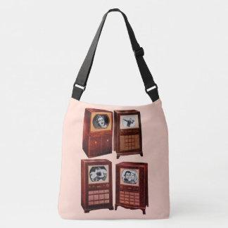 What's on TV Crossbody Bag