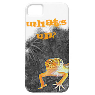 What´s UP? iPhone 5, case, gecko, leopard, Case For The iPhone 5